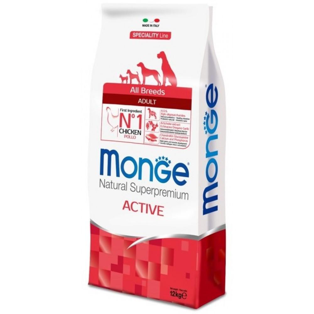Monge Dog Speciality Active - Корм для активных собак с курицей