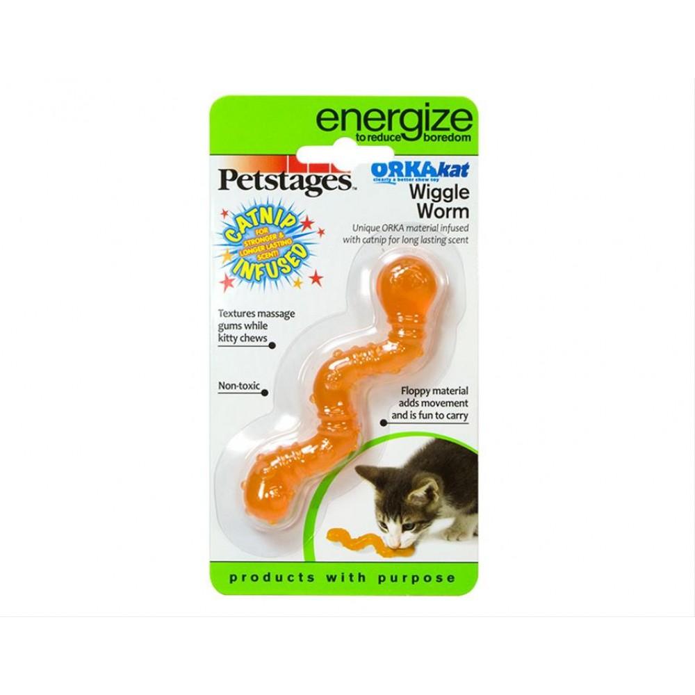 """Petstages Energize - Игрушка для кошек """"ОPKA червяк"""""""