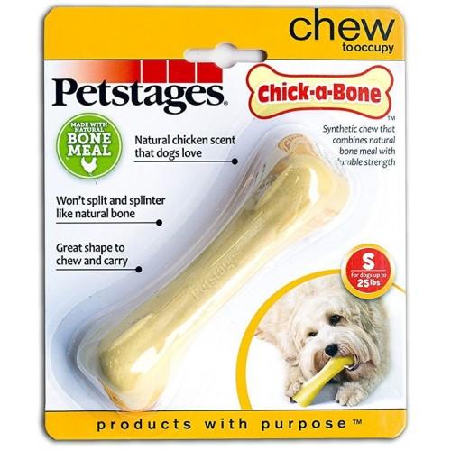 Chick-A-Bone - Игрушка для собак косточка с ароматом курицы
