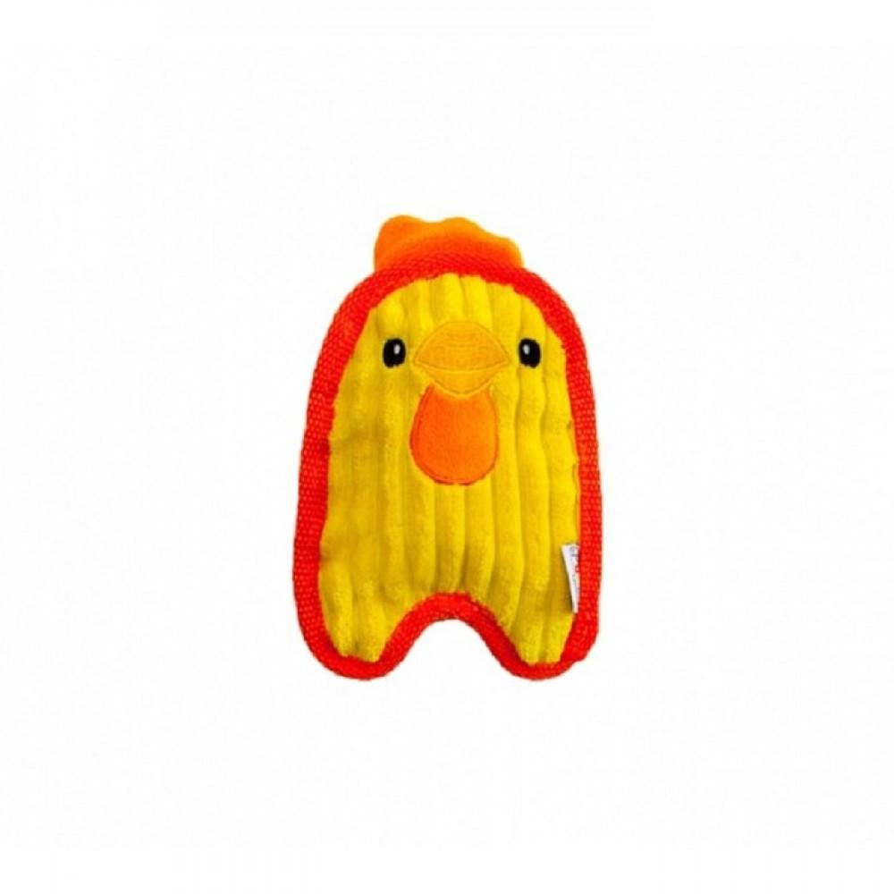Petstages ОН Invinc Mini - Игрушка для собак Цыпленок без наполнителя