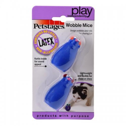 """Play - Игрушка для кошек """"Мышки-воблер"""" 2 шт."""
