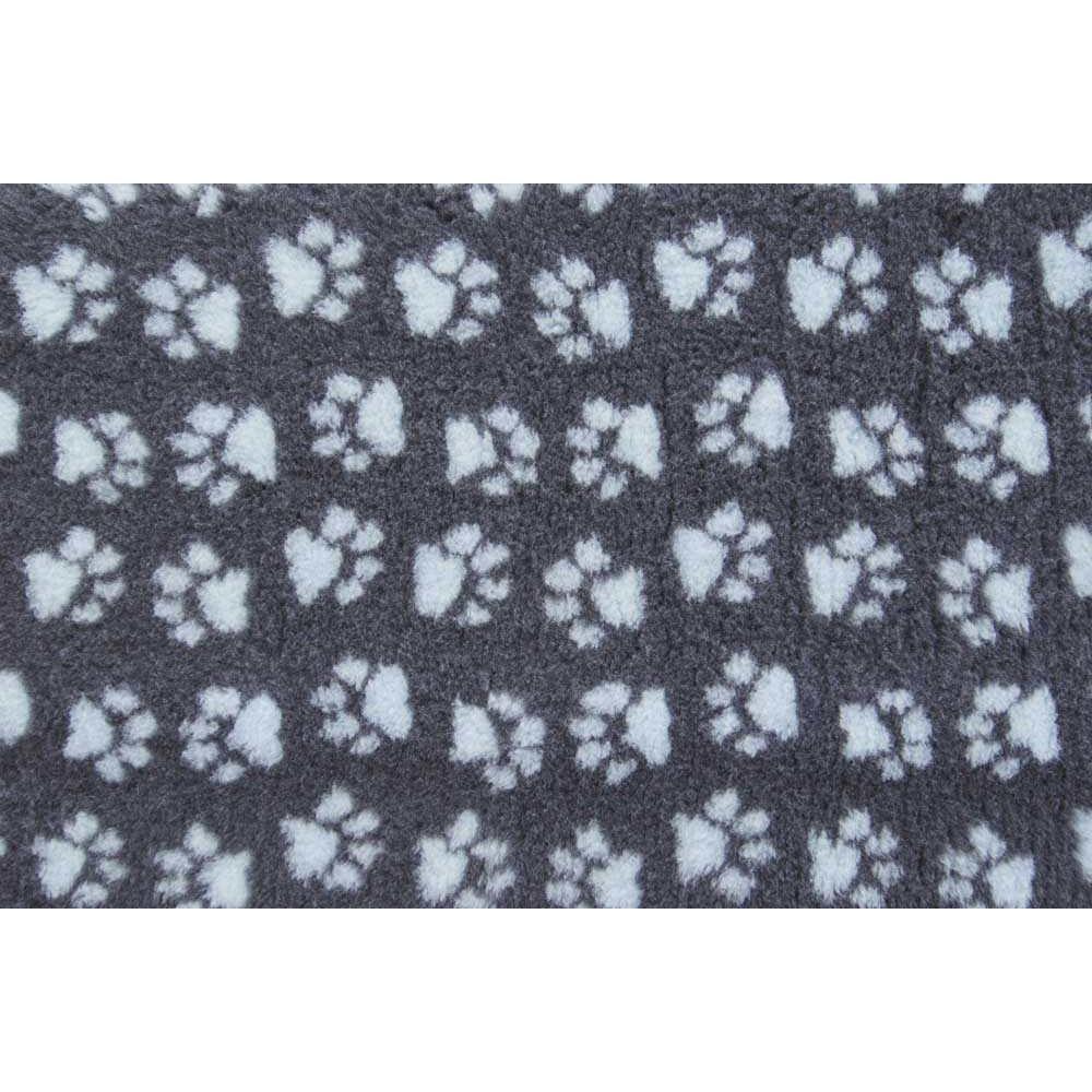 ProFleece Коврик меховой для кошек и собак угольный/голубой