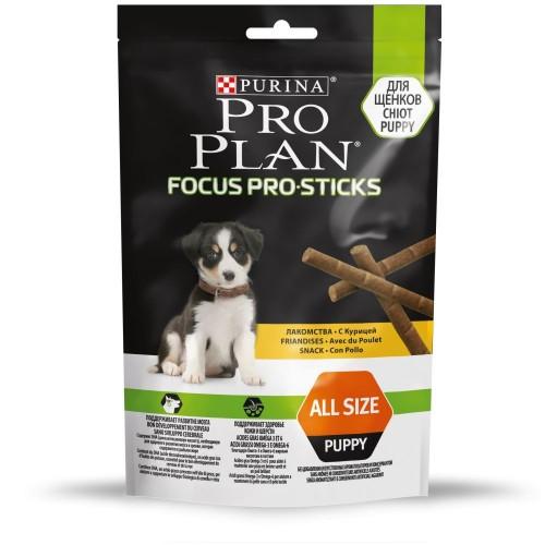 "PRO PLAN ""FocusPro Sticks"" - Снеки (лакомство) Пурина для развития мозга у щенков, Курица"