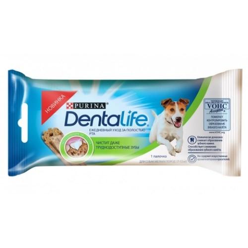DENTALIFE - Полезные лакомства для собак мелких пород
