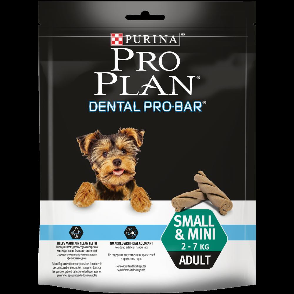 "Purina PRO PLAN ""Dental Pro Bar"" Small Mini - Снеки Пурина для собак для поддержания здоровья полости рта"