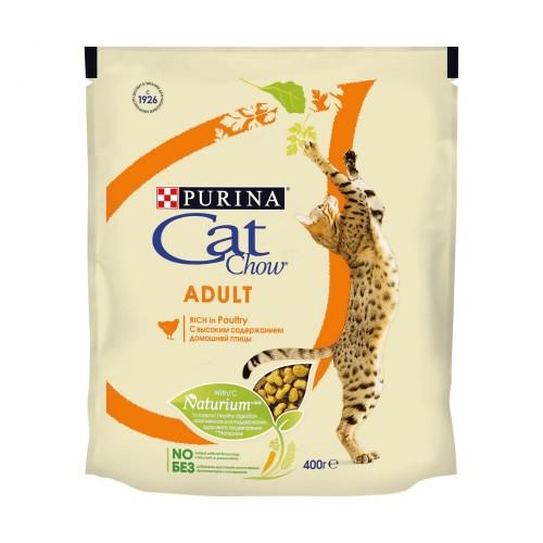 "CAT CHOW ""Adult"" - Сухой корм для взрослых кошек, Домашняя Птица"