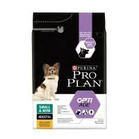 "PRO PLAN OPTIAGE ""Adult 9+ Small&Mini"" - Сухой корм Пурина для собак старше 9 лет мелких и карликовых пород, Курица"