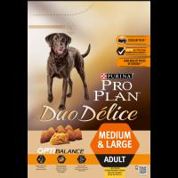"""PRO PLAN """"DUO DELICE Adult"""" - Сухой корм Пурина для собак, Курица/Рис"""