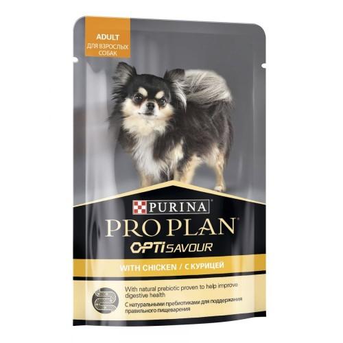 PRO PLAN - Влажный корм (консервы) Пурина для взрослых собак, Курица