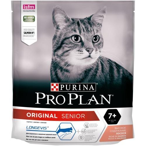 """PRO PLAN """"Adult"""" - Сухой корм Пурина для кошек старше 7 лет, Лосось"""