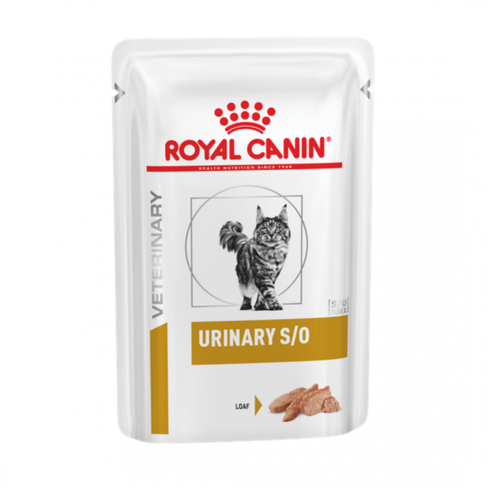 "Royal Canin Urinary S/O - Влажный корм для кошек, способствующий растворению струвитов ""Роял Канин Уринари С/О"""