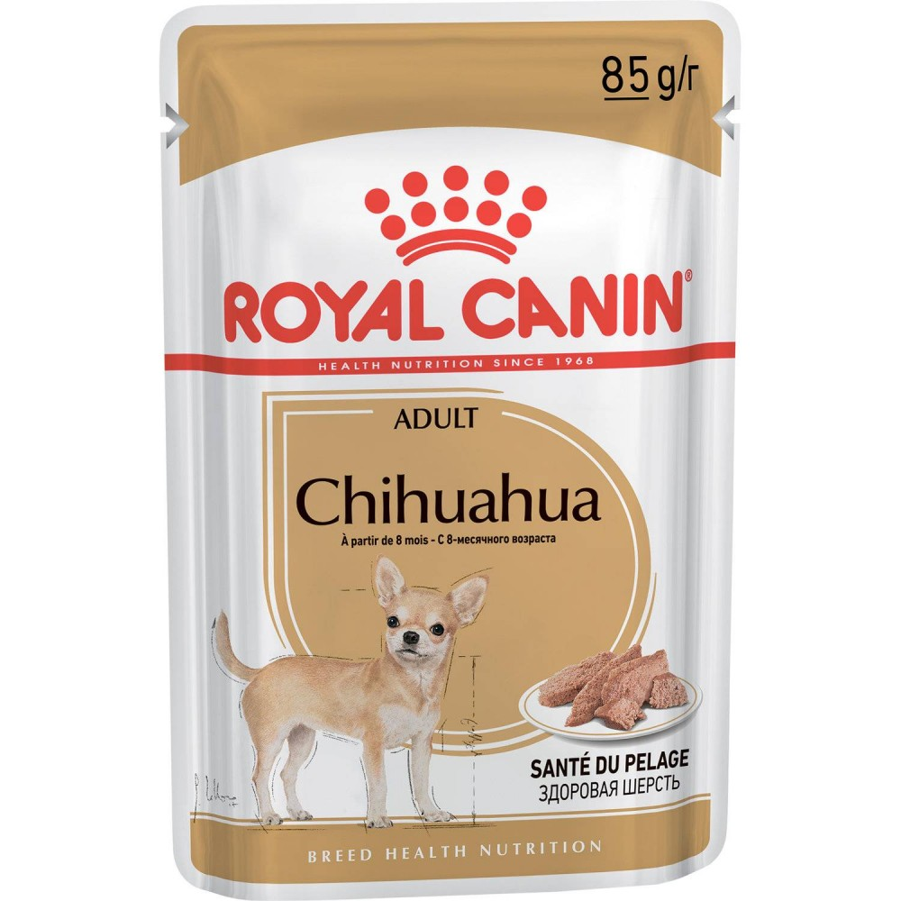 "Royal Canin Chihuahua - Паштет для взрослых собак породы чихуахуа ""Роял Канин"""