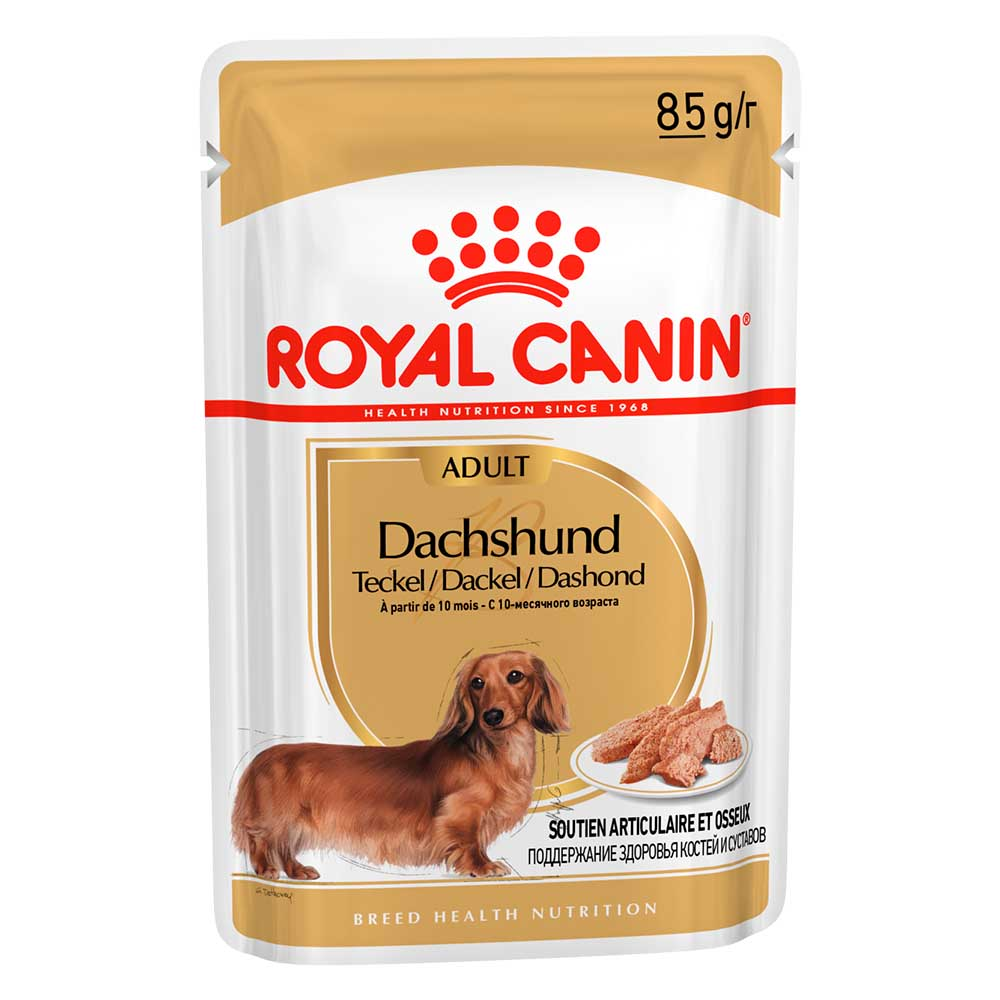 "Royal Canin Dachshund - Паштет для взрослых собак породы такса ""Роял Канин"""