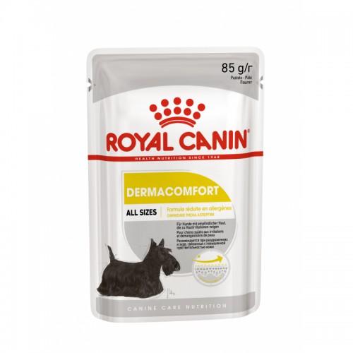 """Dermacomfort - Паштет для собак с чувствительной кожей, склонной к раздражениям """"Роял Канин Дерма Комфорт Эдалт"""""""