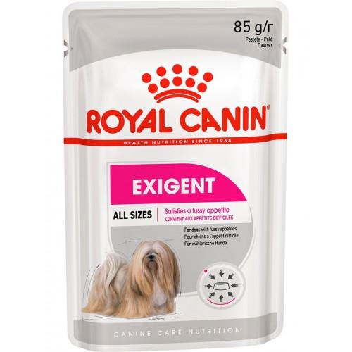 """Exigent - Паштет для взрослых собак, привередливых в питании """"Роял Канин Экзиджент Кэа Эдалт"""""""