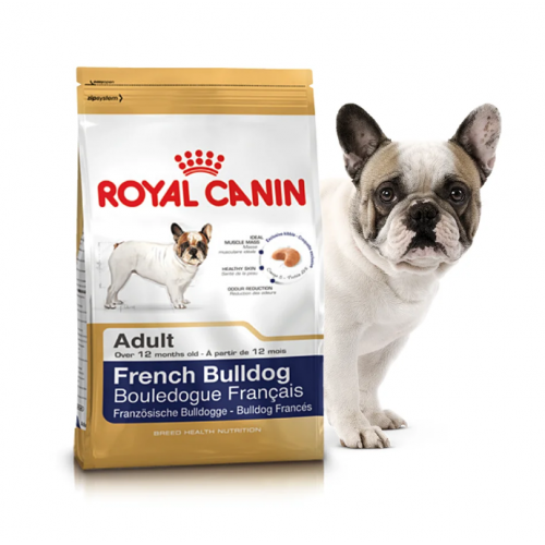"French Bulldog Adult - Корм для взрослых собак породы французский бульдог ""Роял Канин Эдалт"""
