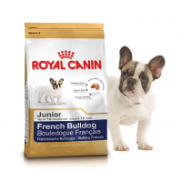 "French Bulldog Junior - Корм для щенков породы французский бульдог ""Роял Канин Юниор"""
