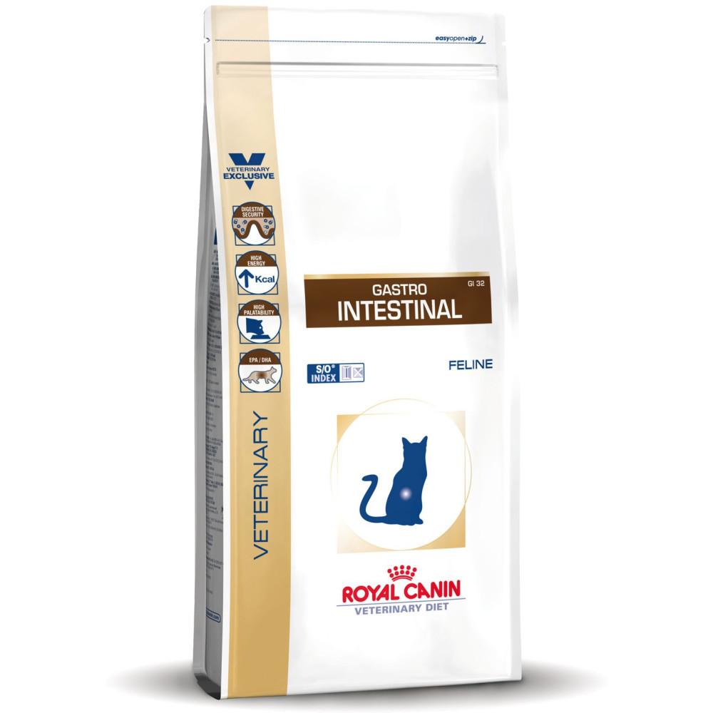 "Royal Canin Gastro Intestinal GI 32 - Корм для кошек при заболеваниях печени и нарушениях пищеварения ""Роял Канин Гастро-Интестинал ГИ 32"""