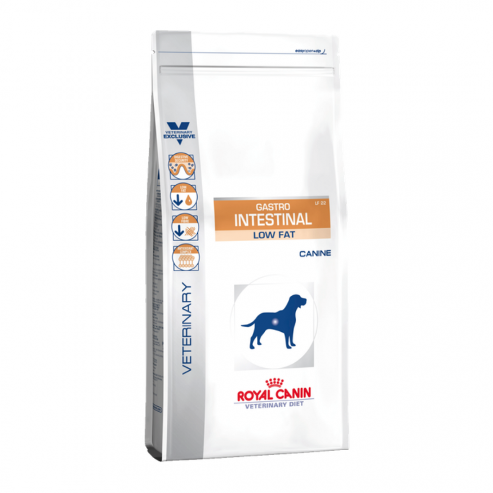 "Royal Canin Gastro Intestinal Low Fat - Корм для собак при диарее и панкреатите ""Роял Канин Гастро-Интестестинал Лоу Фэт ЛФ 22"""