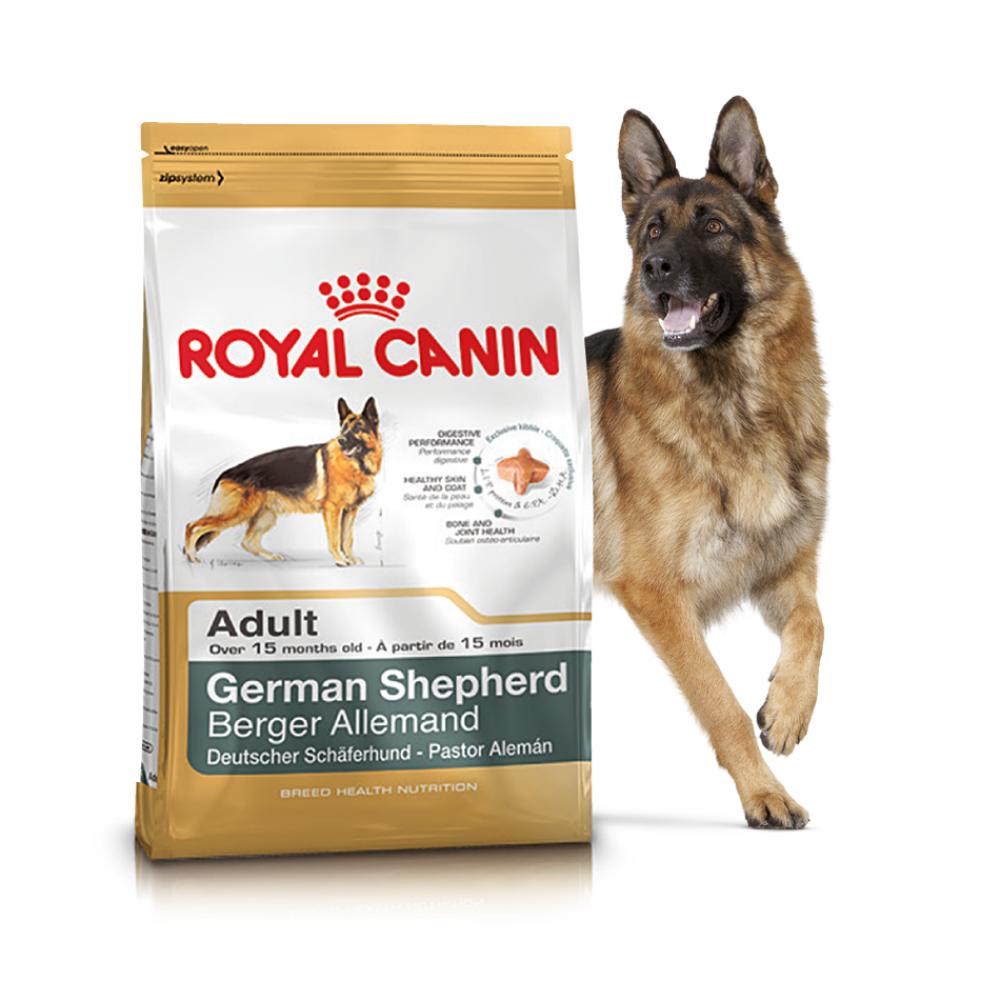"Royal Canin German Shepherd Adult - Корм для взрослых собак породы немецкая овчарка ""Роял Канин Джерман Шеферд"""