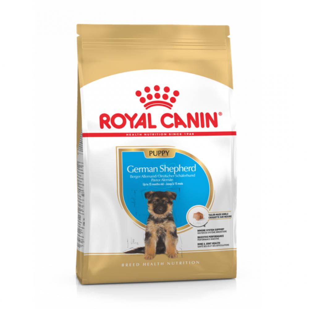 "Royal Canin German Shepherd Puppy - Корм для щенков породы немецкая овчарка ""Роял Канин Джерман Шеферд Паппи"""