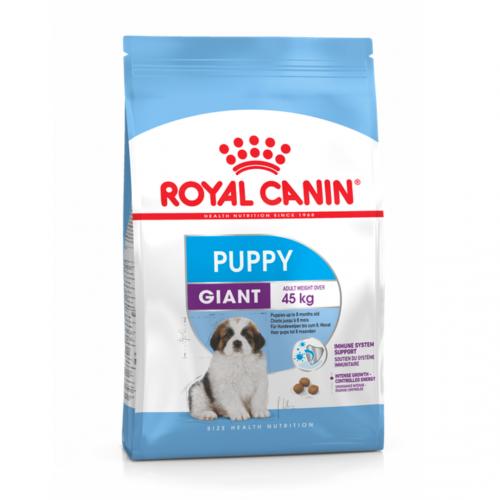 """Giant Puppy - Корм для щенков очень крупных размеров """"Роял Канин Джайнт Паппи"""""""
