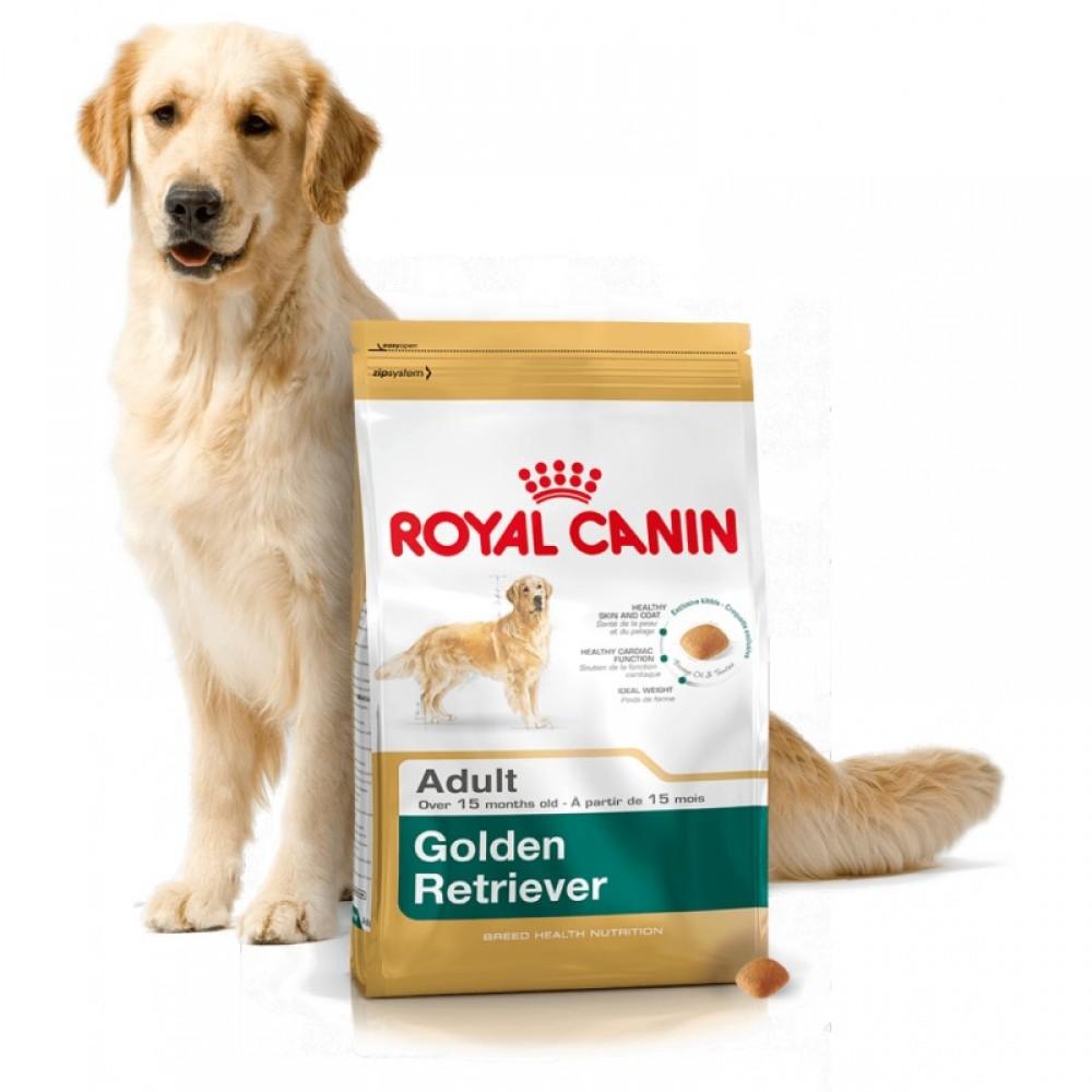 """Royal Canin Golden Retriever Adult - Корм для взрослых собак породы золотистый ретривер """"Роял Канин Голден Ретривер Эдалт"""""""