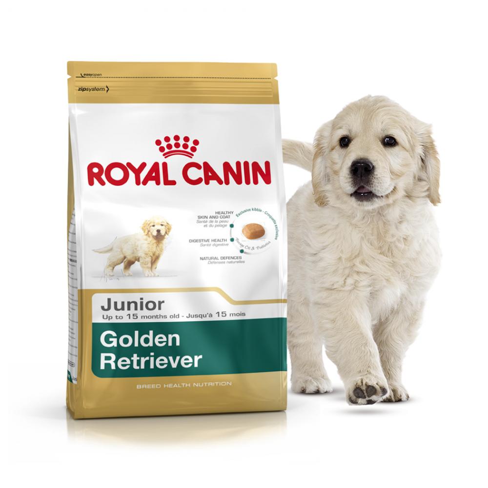 """Royal Canin Golden Retriever Junior - Корм для щенков породы золотистый ретривер """"Роял Канин Юниор"""""""