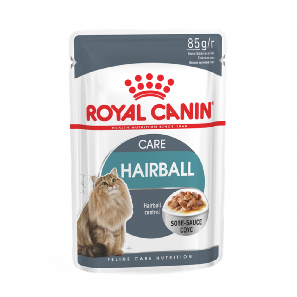 "Royal Canin Hairball Care - Влажный корм для вывода шерсти для взрослых кошек ""Роял Канин Хэйрболл Кэа"""