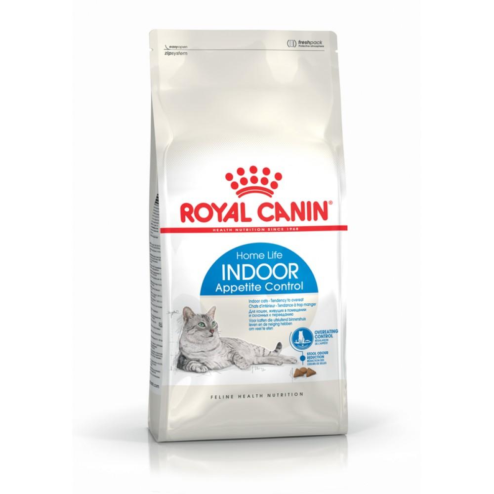 """Royal Canin Indoor Appetite Control - Корм для взрослых домашних кошек, склонных к перееданию """"Роял Канин Индор Апетайт Контрол"""""""