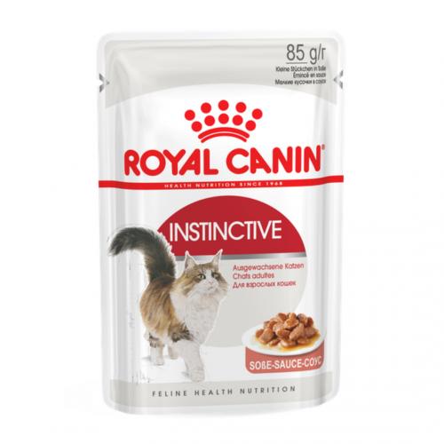"""Instinctive - Влажный корм в соусе для взрослых кошек """"Роял Канин Инстинктив"""""""