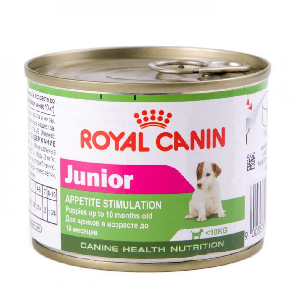 """Royal Canin Junior - Влажный корм для щенков мелких пород """"Роял Канин Юниор Мусс"""""""
