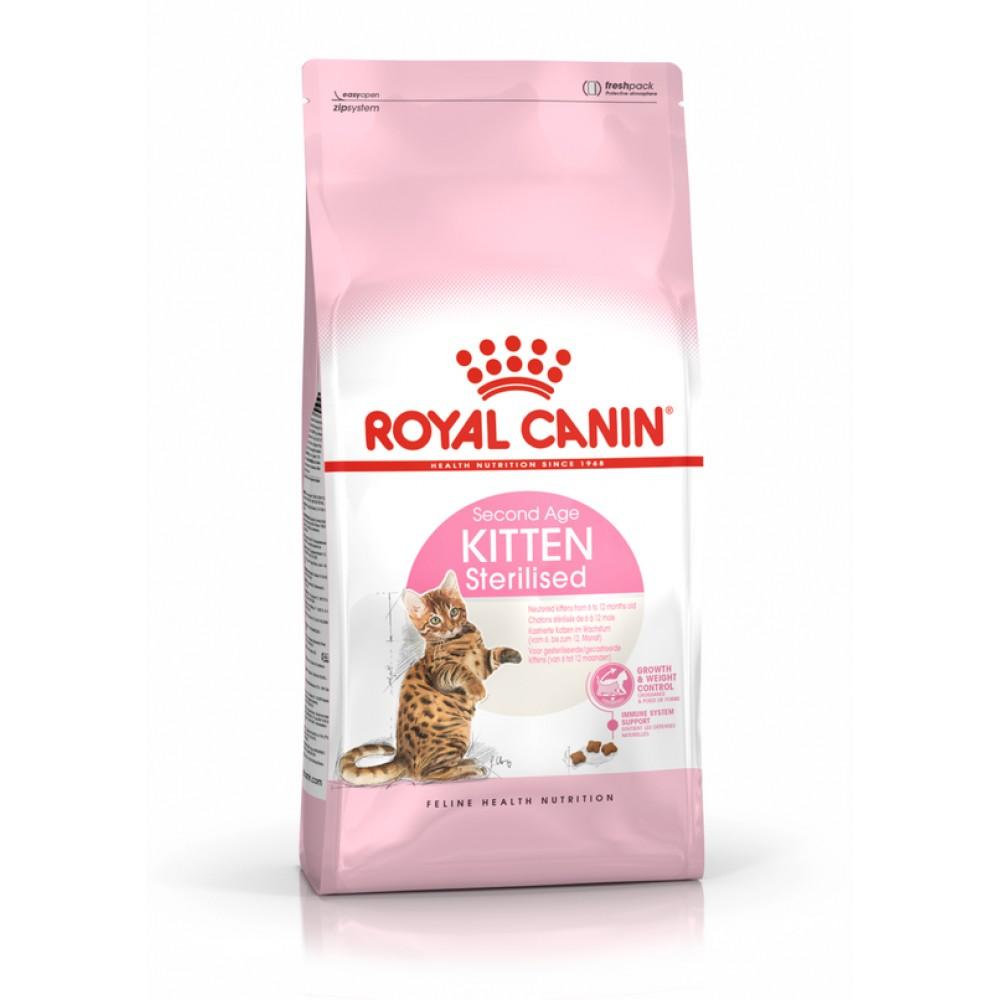 "Royal Canin Kitten Sterilised - Корм для стерилизованных котят в возрасте 6-12 мес. ""Роял Канин Киттен Стерилайзд"""