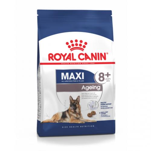 """Maxi Ageing 8+ Корм для возрастных собак крупных пород """"Роял Канин Макси Эйджинг 8+"""""""