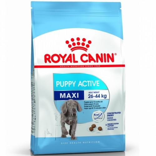 """Maxi Puppy Active - Корм для щенков с высокими энергетическими потребностями """"Роял Канин Макси Паппи Актив"""""""