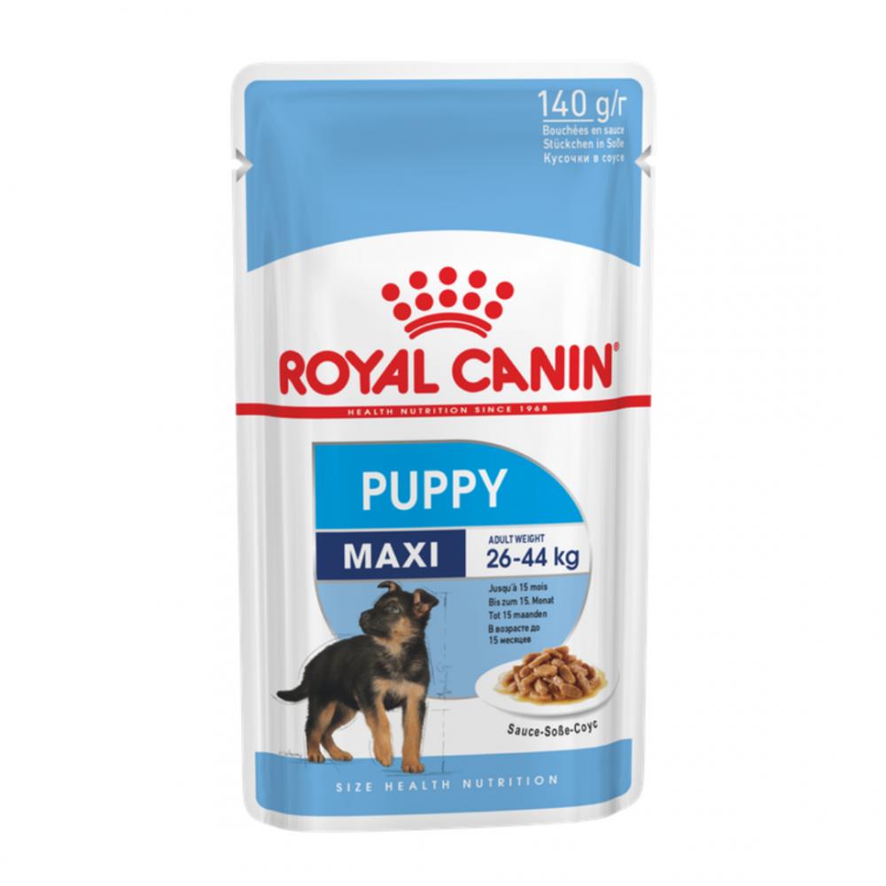 """Royal Canin Maxi Puppy - Влажный корм в соусе для щенков крупных пород """"Роял Канин Макси Паппи"""""""