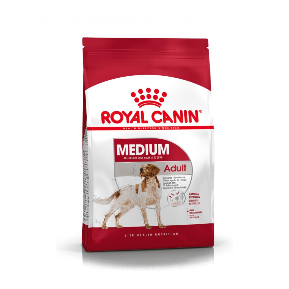 """Royal Canin Medium Adult - Корм для взрослых собак средних пород """"Роял Канин Медиум Эдалт"""""""