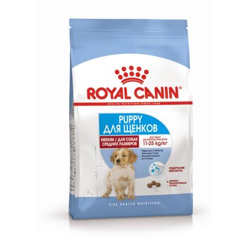 """Medium Puppy - Корм для щенков средних пород """"Роял Канин Медиум Паппи"""""""