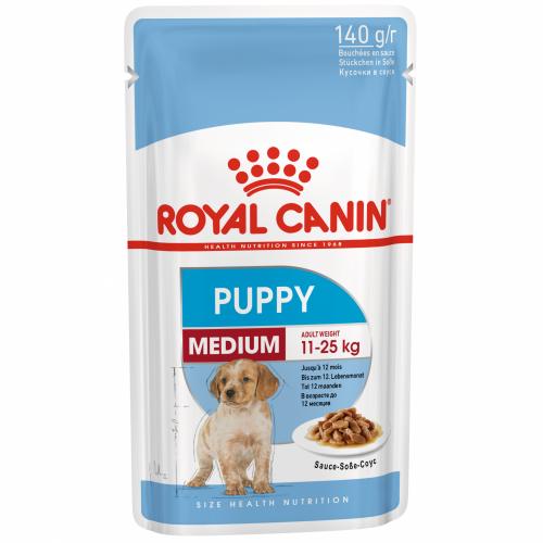 """Medium Puppy - Влажный корм в соусе для щенков средних пород """"Роял Канин Медиум Паппи"""""""