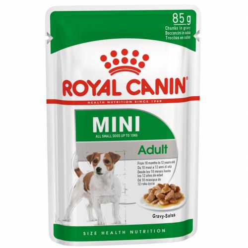 """Mini Adult - Влажный корм в соусе для взрослых собак миниатюрных пород """"Роял Канин Мини Эдалт"""""""