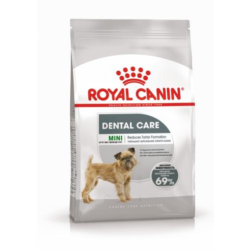 """Mini Dental Care - Корм для собак миниатюрных пород с повышенной чувствительностью зубов """"Роял Канин Мини Дентал Кэа"""""""