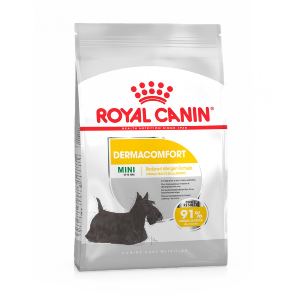 """Royal Canin Mini Dermacomfort - Корм для взрослых собак мелких пород с раздражениями кожи """"Роял Канин Мини Дерма Комфорт"""""""