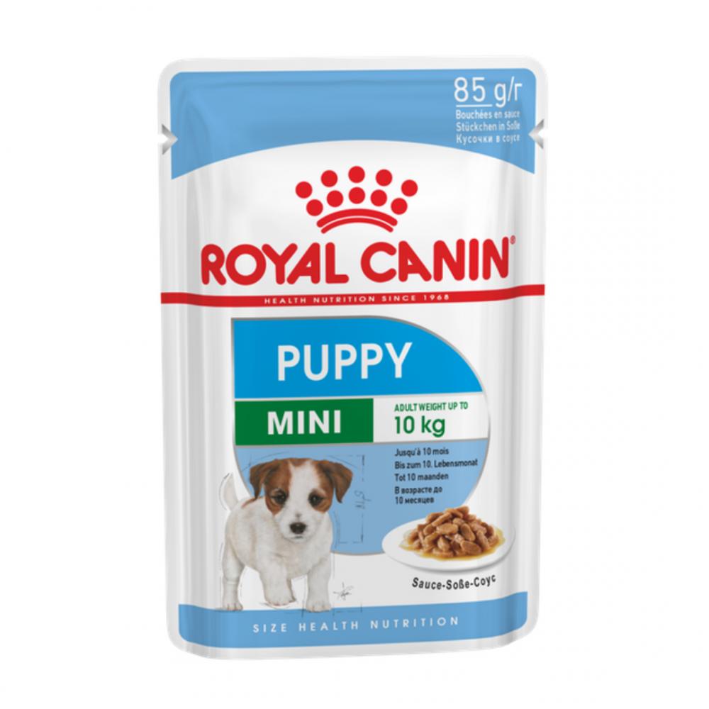 """Royal Canin Mini Puppy - Влажный корм в соусе для щенков миниатюрных пород """"Роял Канин Мини Паппи"""""""