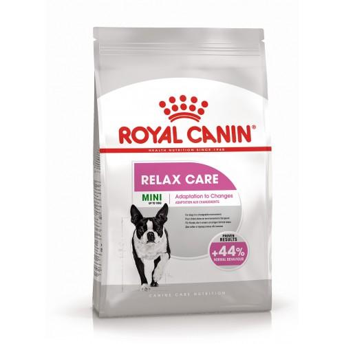 Mini Relax Care - Корм для собак миниатюрных пород, подверженных стрессовым факторам Мини Релакс