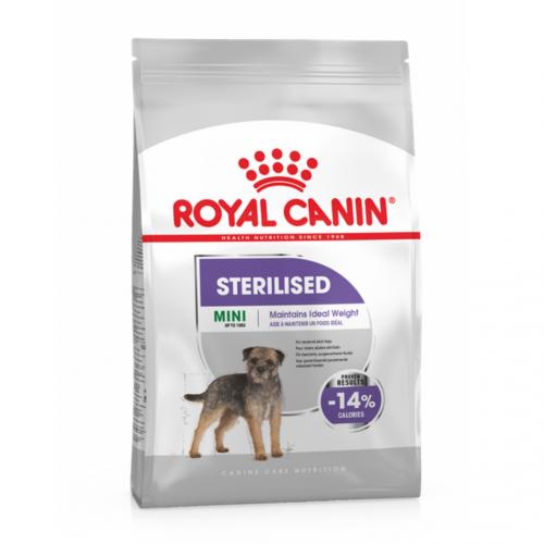 """Mini Sterilized Adult - Корм для взрослых стерилизованных собак миниатюрных пород """"Роял Канин Мини Стерилайзд Эдалт"""""""