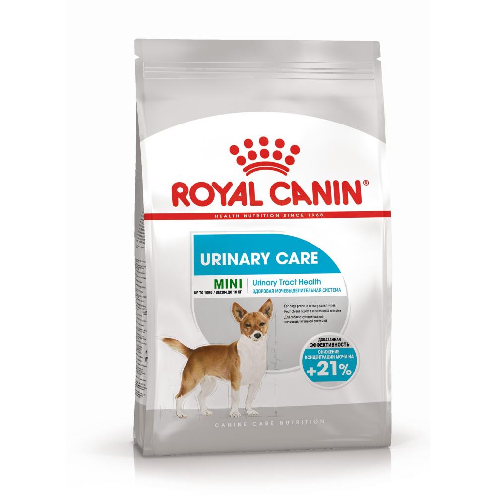 """Royal Canin Mini Urinary Care - Корм для собак миниатюрных пород с чувствительной мочевыделительной системой """"Роял Канин Мини Уринари Кэа"""""""