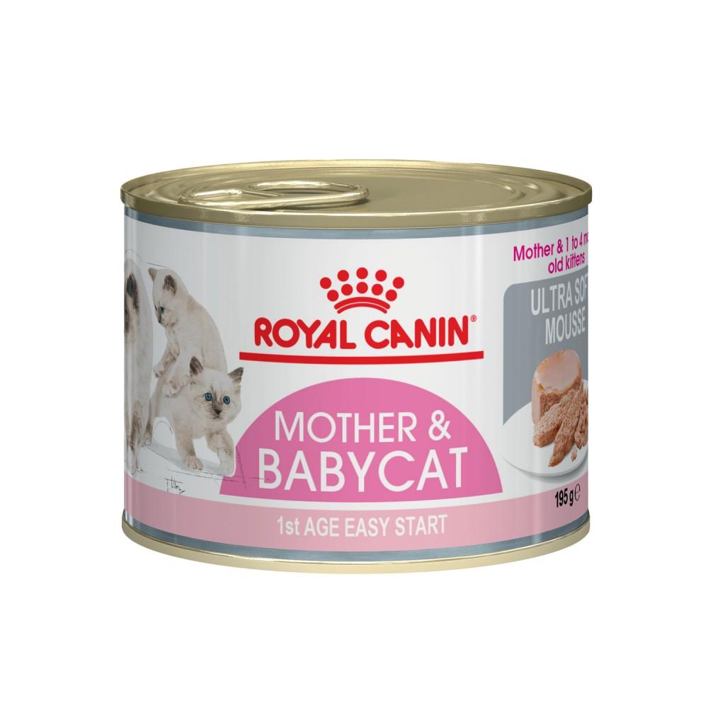 "Royal Canin Mother Babycat - Мусс для котят ""Роял Канин Бэбикет"""