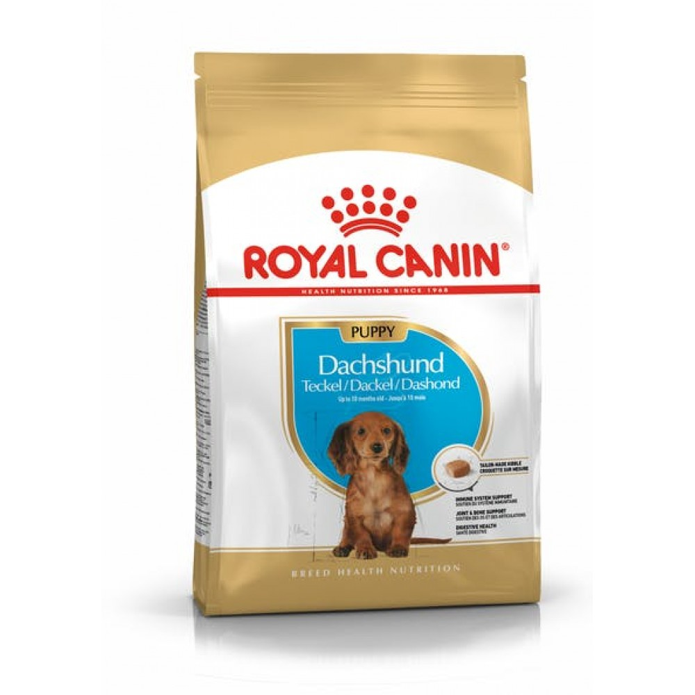 """Royal Canin Dachshund Junior - Корм для щенков породы такса """"Роял Канин Юниор"""""""