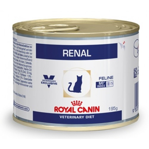 """Renal - Паучи для кошек с цыплёнком при хронической почечной недостаточности """"Роял Канин Ренал"""""""