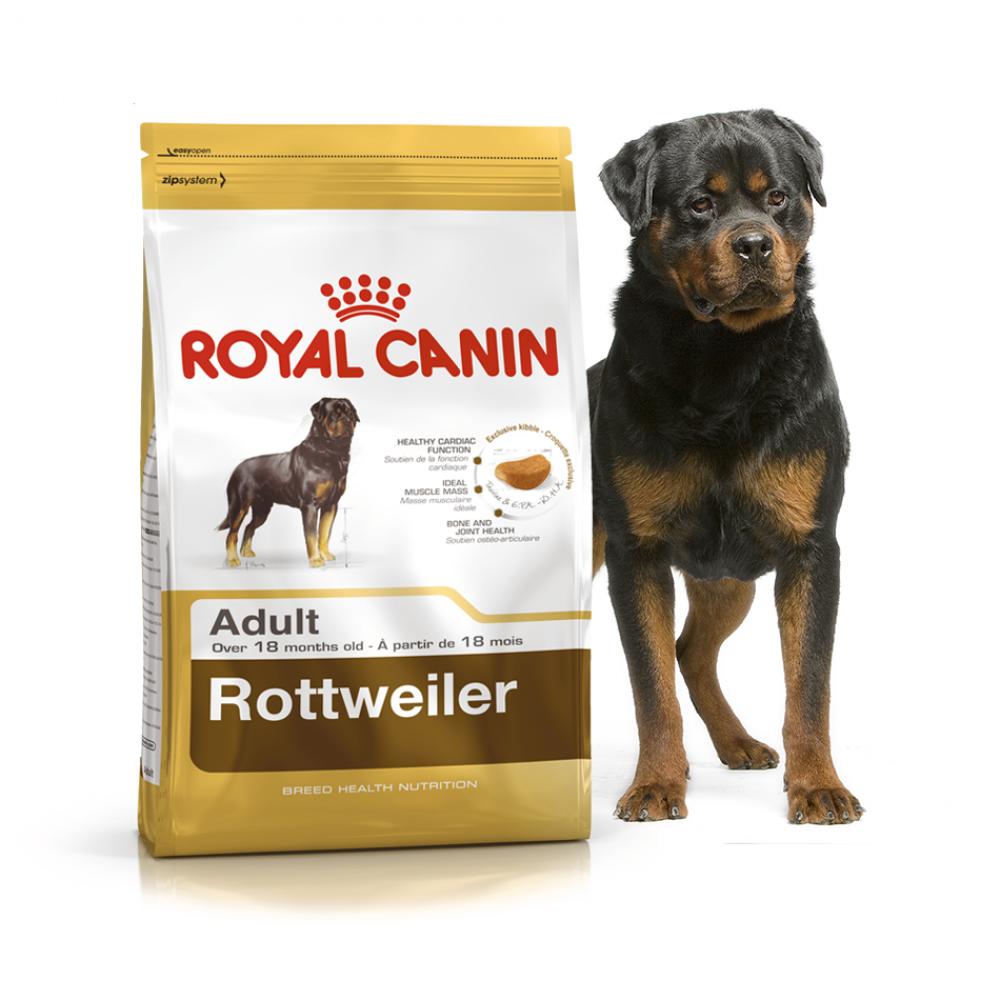 """Royal Canin Rottweiler Adult - Корм для взрослых собак породы ротвейлер """"Роял Канин Эдалт"""""""